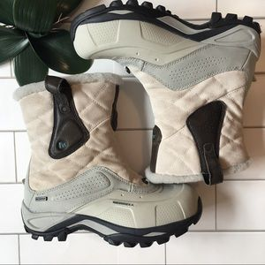 Merrell Boots Whiteout Silver Birch Boots Size 8